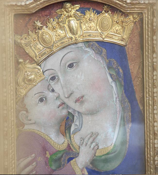 Icona della Madonna del Rifugio